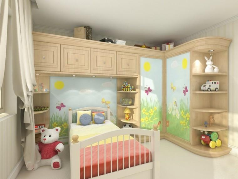 Habitaciones infantiles para niñas, decoración de princesa