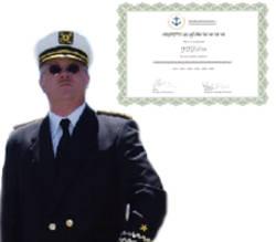 Prácticas de navegación para obtener una licencia