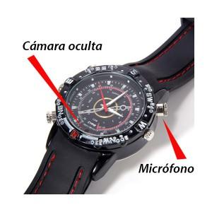 Reloj espia, funciones especiales