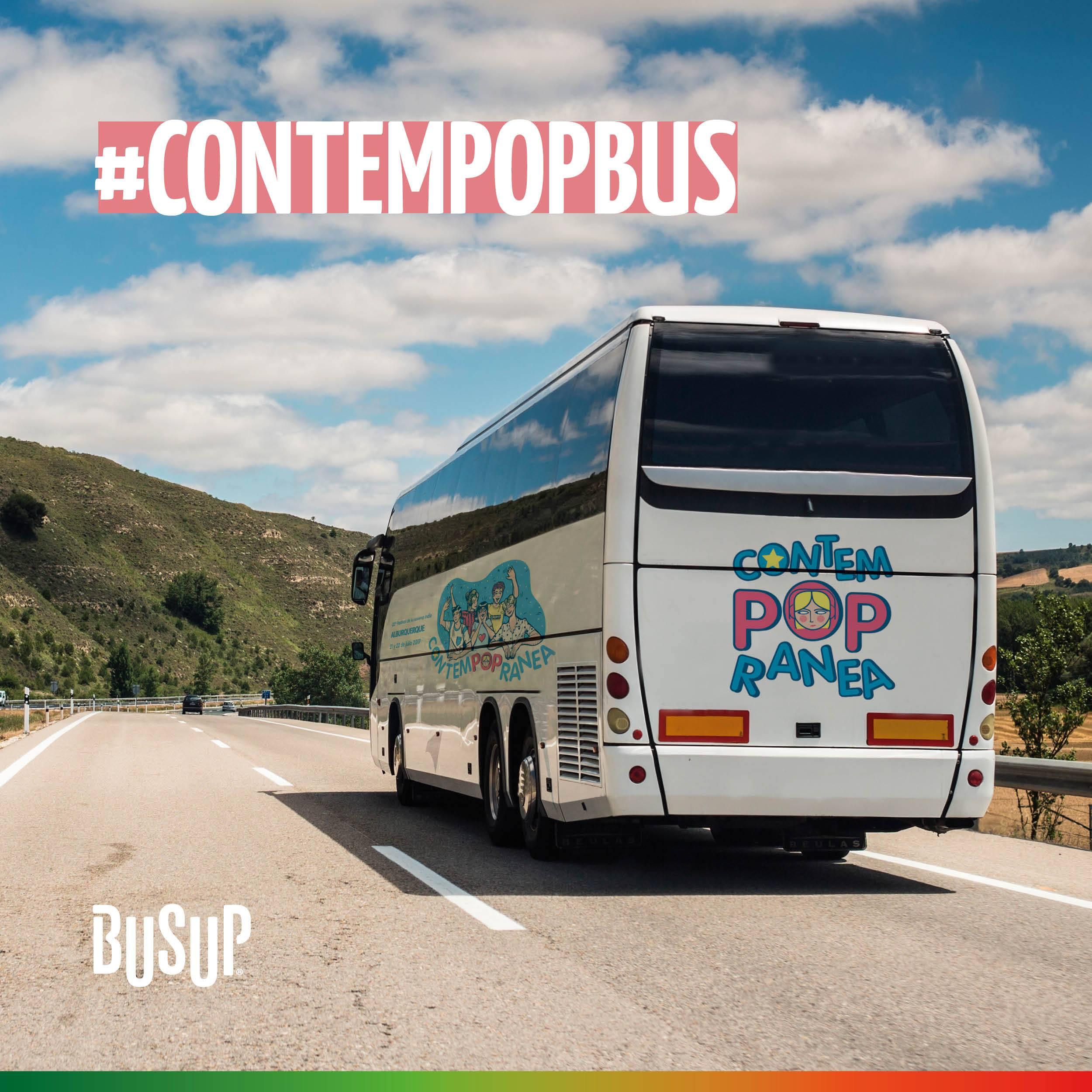Disfruta el mejor Pop Indie  arribando al festival Contempopránea en bus